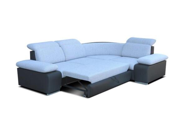 Диван угловой Odessa Mini с раскладным спальным местом | Супермаркет диванов Relax Studio