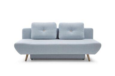 Диван Oslo - просте і ефективне рішення, для випадків коли потрібен недорогий, стильний диванчик з розкладкою для постійного сну. Гарне рішення для дитячої або підліткової кімнати чи для вітальні в скандинавському стилі.