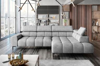 Кутовий диван Plaza-L купити в Києві. Супермаркет диванів Релакс Студіо