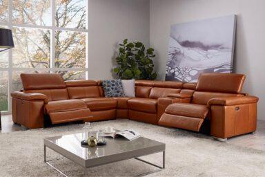 Большой угловой диван для гостиной. Модель RS-10736. Супермаркет диванов Релакс Студио