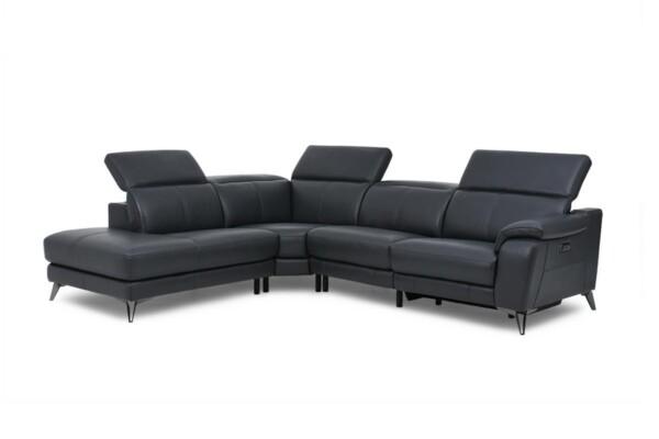 Угловой диван с открытой секцией. Модель RS-11380-PR. Супермаркет диванов Relax Studio