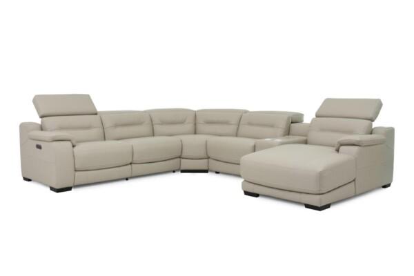 Мягкая мебель в гостиную. Угловой диван RS-11384-PR. Супермаркет диванов Relax Studio