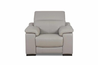 М'яке шкіряне крісло з реклайнером RS-11405. Супермаркет диванів Relax Studio