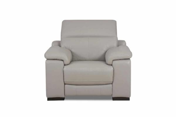 Мягкое кожаное кресло с Реклайнер RS-11405. Супермаркет диванов Relax Studio