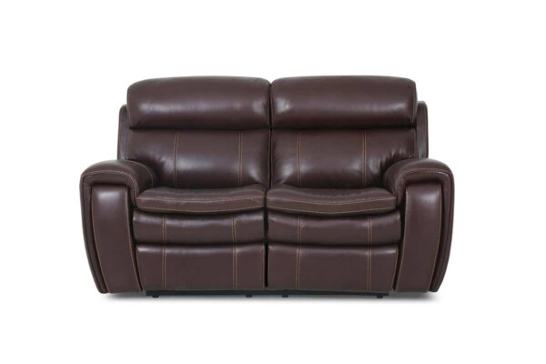Прямий шкіряний диван купити Київ. Модель Диван RS-11491-PRCS. Супермаркет диванів Релакс Студіо