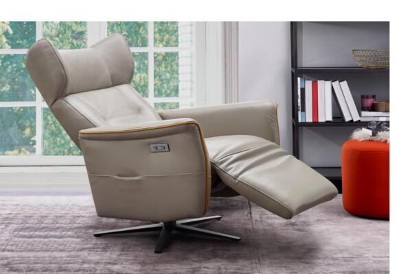 Модне крісло для домашнього кабінету чи вітальні. Модель RS-11514 TVCH. Супермаркет диванів Relax Studio