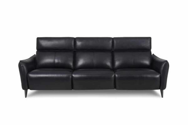 Модний шкіряний диван Київ. Модель RS-11624. Супермаркет диванів Relax Studio