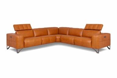 Большой угловой диван для просторного помещения купить в Киеве. Модель RS-A0147-PR. Супермаркет диванов Релакс Студио