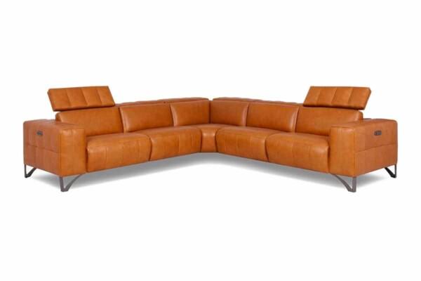 Великий кутовий диван для просторого приміщення купити в Києві. Модель RS-A0147-PR. Супермаркет диванів Релакс Студіо
