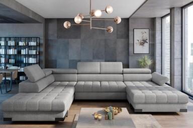 Кутовий диван Selva-XL купити Київ. З розкладкою для сну та нішею для білизни. Супермаркет диванів Релакс Студіо