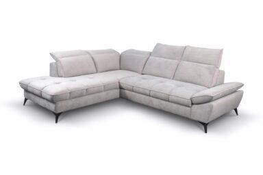 Кутовий диван Sierra - з розкладкою для сну та нішею для білизни | Польські м'які меблі