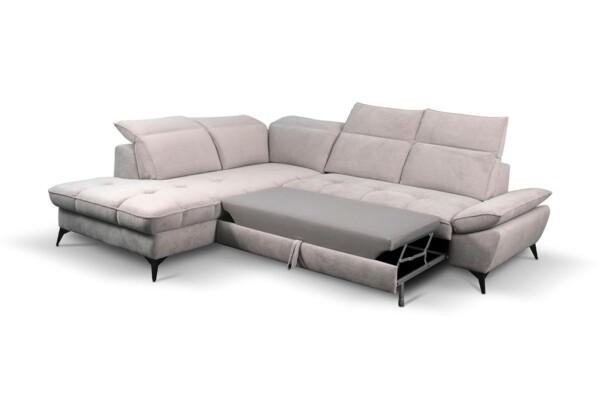 Кутовий диван з розкладкою купити в Києві. Модель Sierra. Супермаркет диванів Релакс Студіо